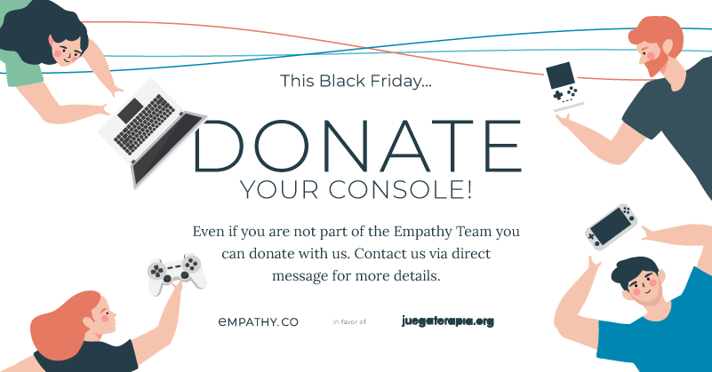 This Black Friday... Donate Your Console!