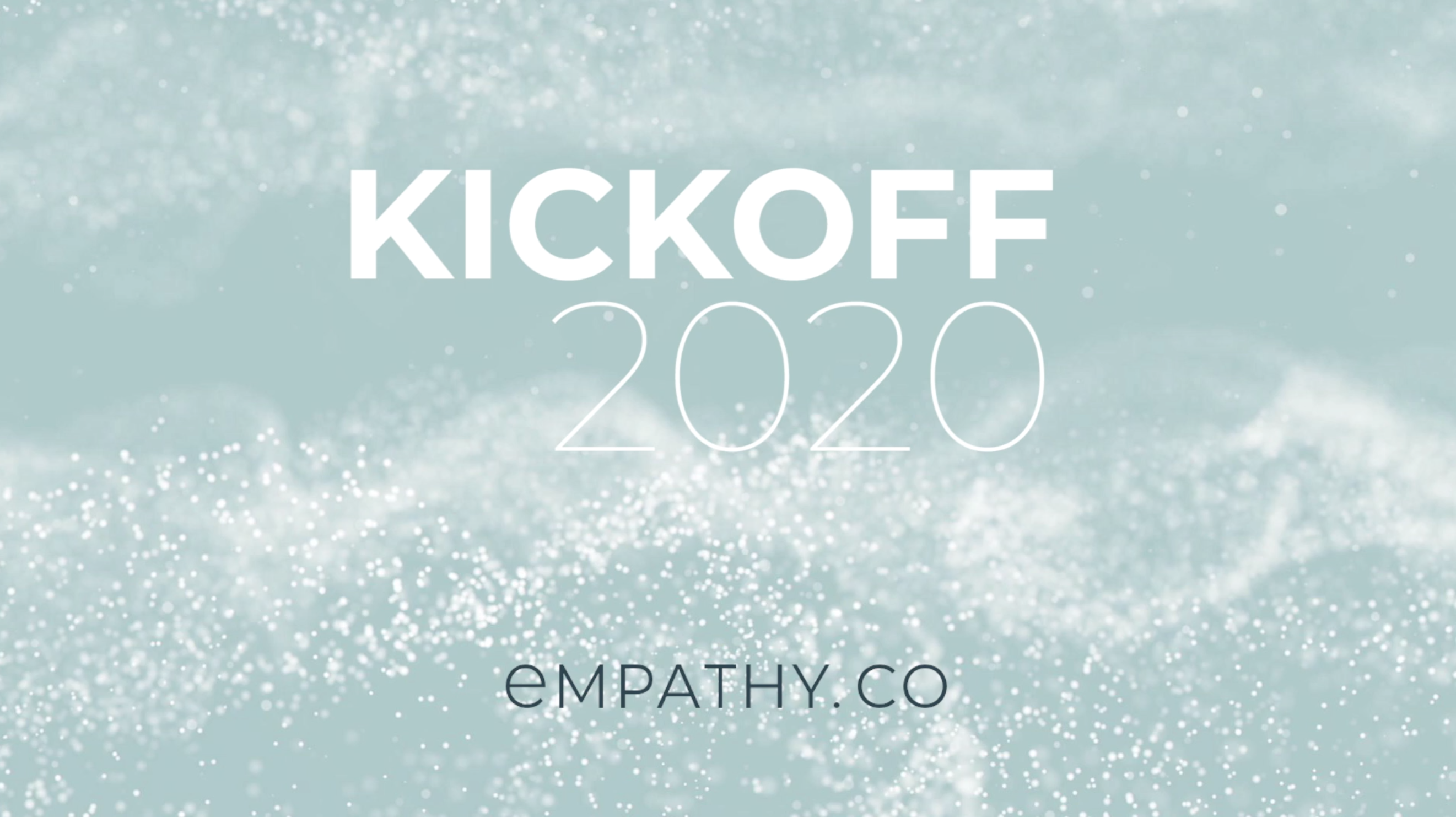 #Kickoff2020: fueling for growth