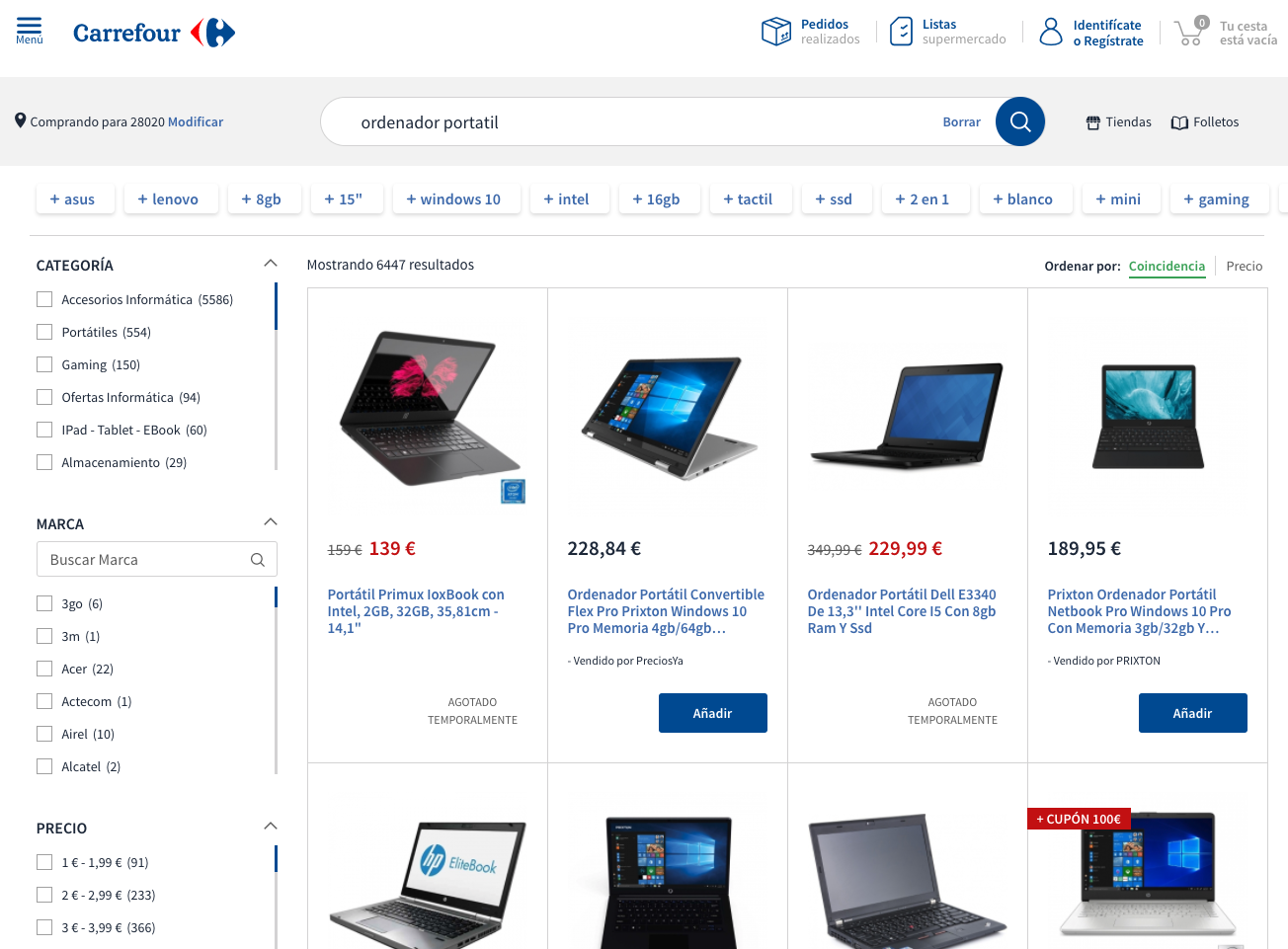 BACK TO SCHOOL: How Carrefour.es makes it easier through Search and Discovery