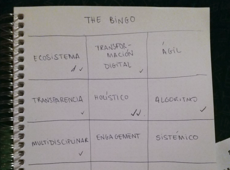 #EXF19 bingo on twitter… spoiler alert, the clear winner was HOLISTIC I'll try to avoid the buzzword/tech jargon but I'm afraid it's going to be inevitable ;-)
