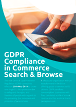 GDPR Compliance in Commerce Search and Browse