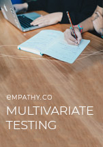 Multivariate Testing Overview